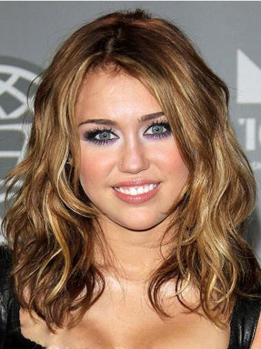 "16"" Capless Bølge Syntetisk Miley Cyrus Parykker"