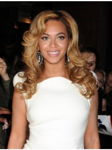 "Blond 16"" Bølge Capless Lang Beyonce Parykker"